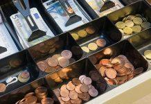 Le nombre de compartiments du tiroir caisse correspond à l'élément le plus important lors d'un achat