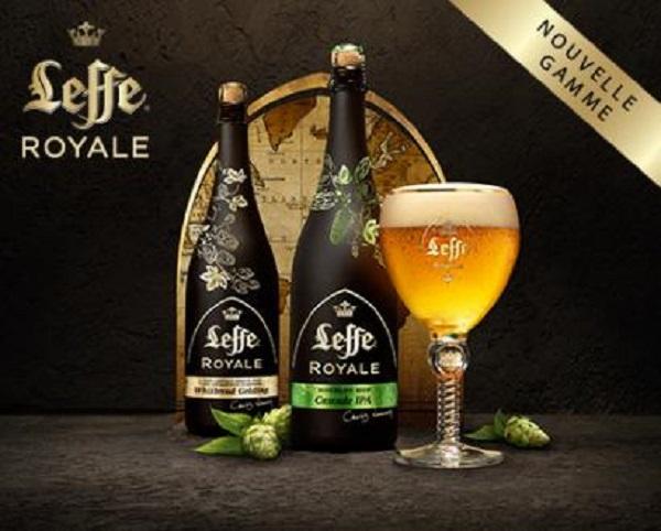 La Leffe Royale est proposée dans différentes saveurs afin de séduire un grand nombre de consommateurs