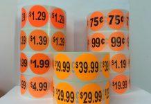 étiquettes personnalisées autocollante